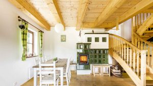 Authentischer Kamin – moderne Tradition